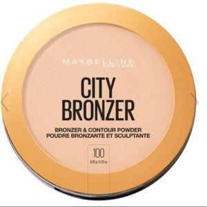 Maybelline City Bronzer & Contour Powder #100
